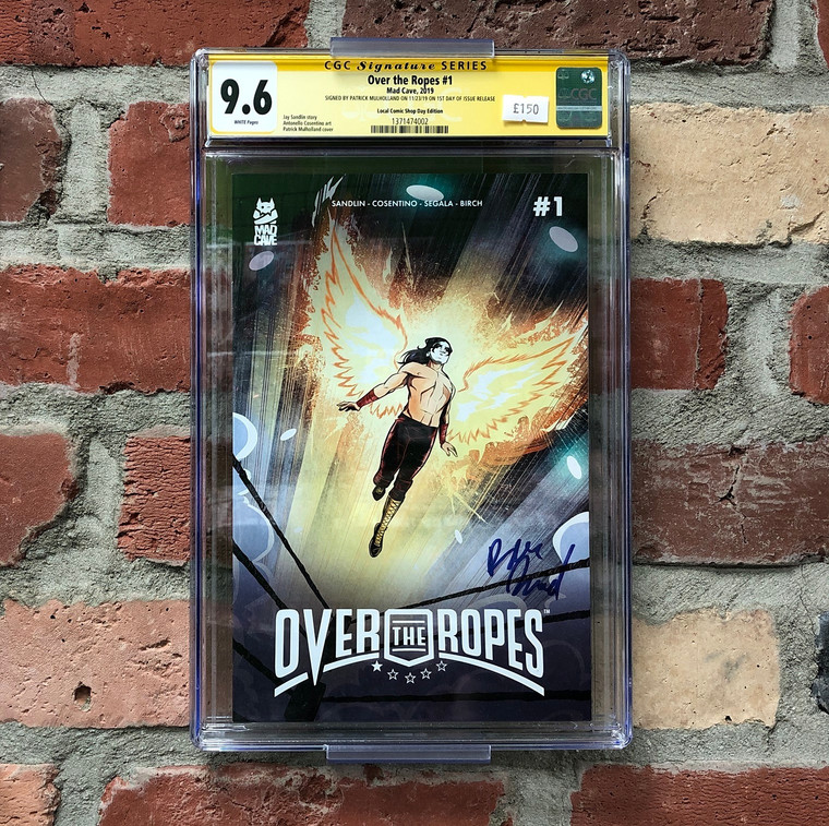 OVER THE ROPES #1 CGC 9.6 SIGNATURE SERIES