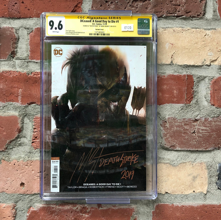 DCEASED: A GOOD DAY TO DIE #1 CGC 9.6 SIGNATURE SERIES