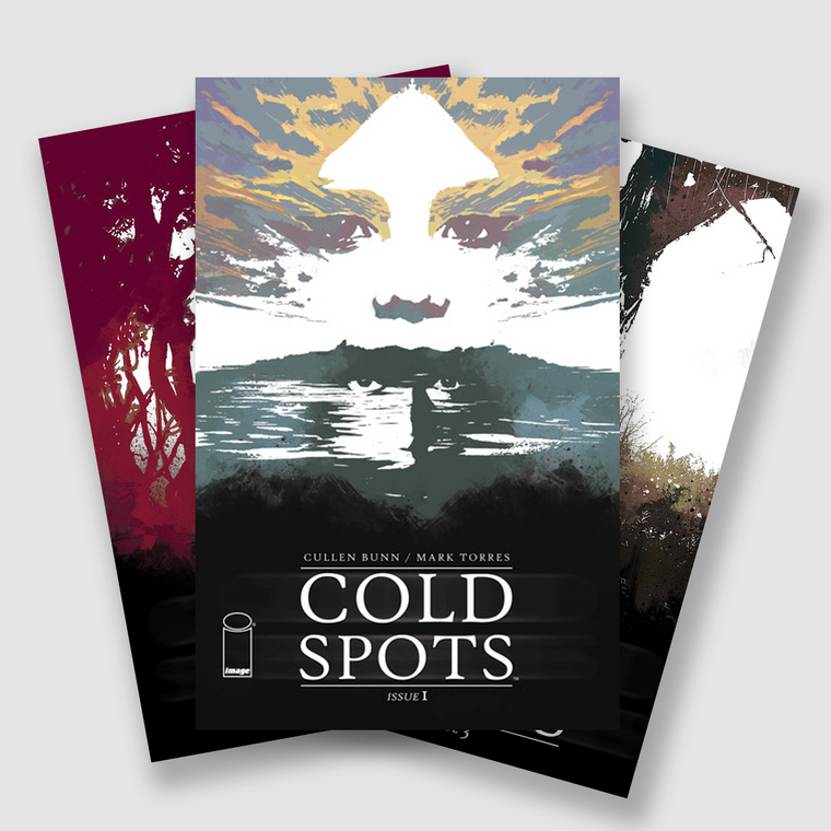 COLD SPOTS COMPLETE FIVE PART COMIC SET