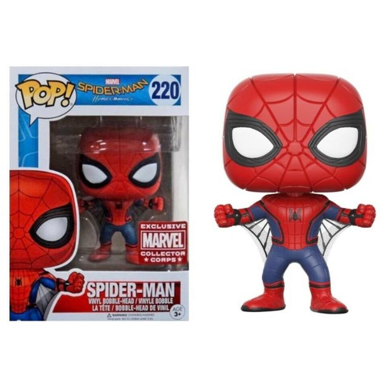 SPIDER-MAN MARVEL POP! VINYL FIGURE MARVEL COLLECTOR CORPS EXCLUSIVE 220