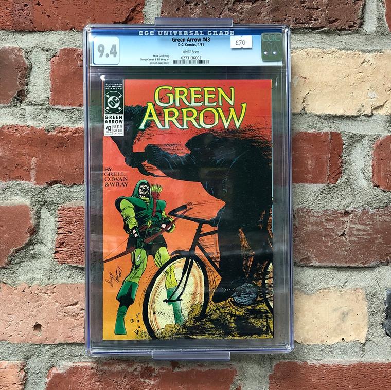 GREEN ARROW #43 CGC 9.4