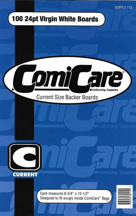 COMICARE CURRENT BOARDS (PACK OF 100)