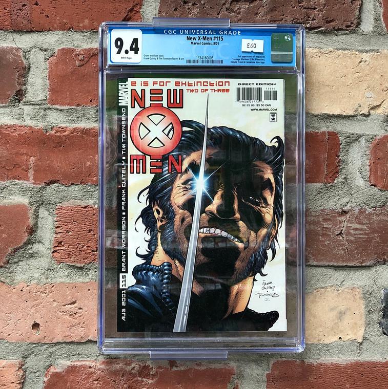 NEW X-MEN #115 CGC 9.4