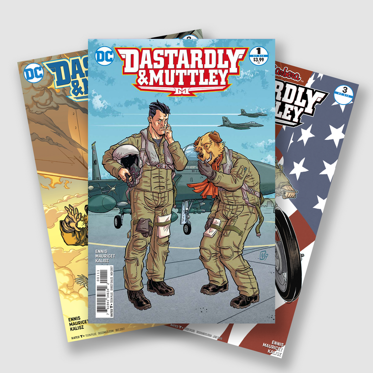 DASTARDLY & MUTTLEY COMPLETE SIX PART COMIC SET