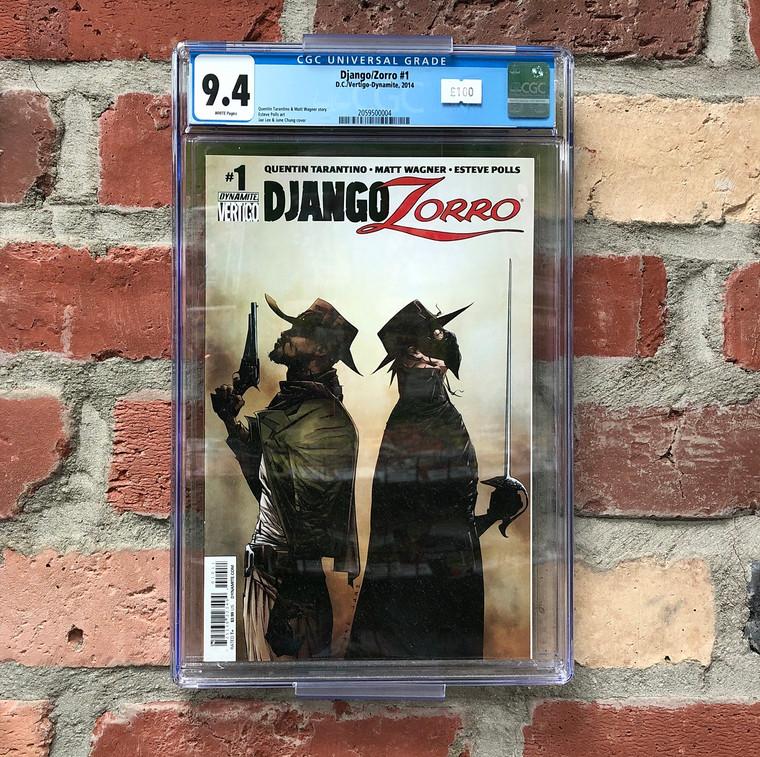 DJANGO/ZORRO #1 CGC 9.4