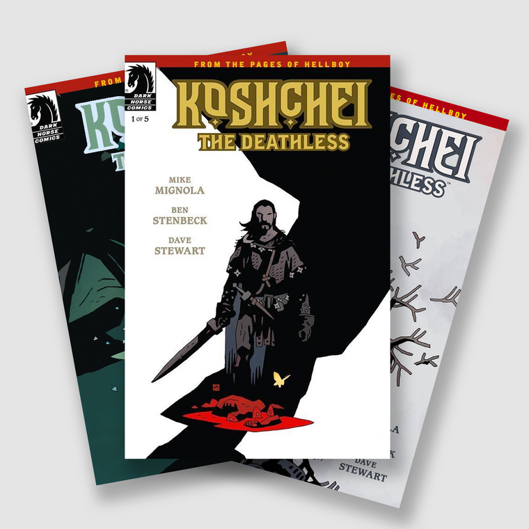KOSHCHEI THE DEATHLESS COMPLETE SIX PART COMIC SET