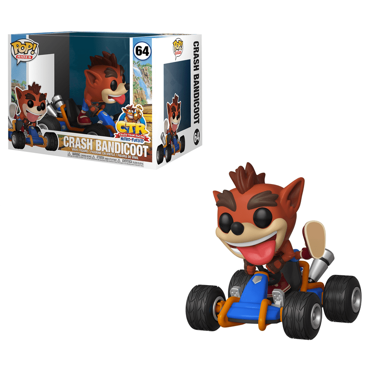 CRASH BANDICOOT POP! RIDES CTR NITRO FUELED 64