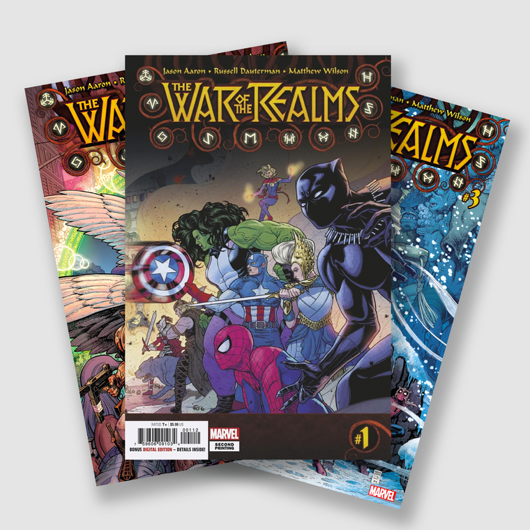 WAR OF THE REALMS COMPLETE SIX PART COMIC SET
