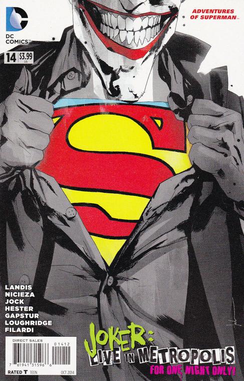 ADVENTURES OF SUPERMAN #14 JOCK 2ND PRINT VARIANT