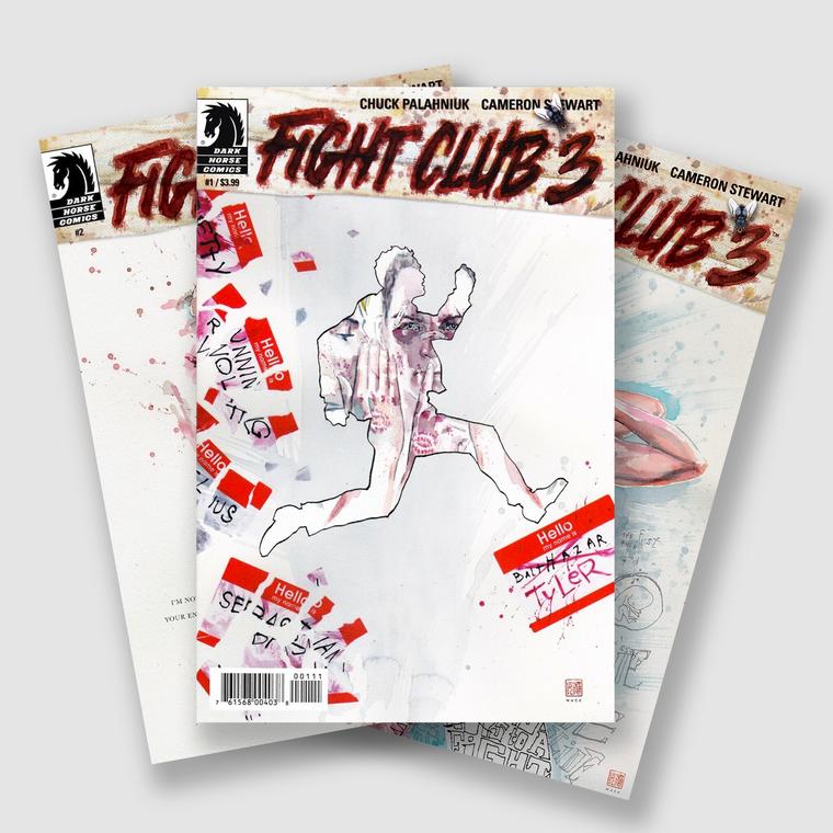 FIGHT CLUB 3 COMPLETE TWELVE PART COMIC SET