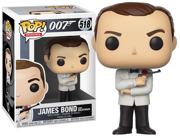JAMES BOND FROM GOLDFINGER 007 POP! VINYL FIGURE 518 (VAULTED)