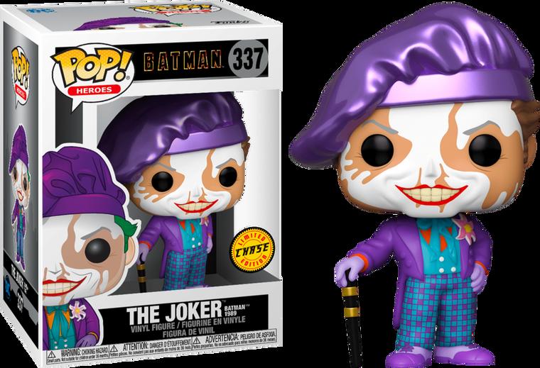 THE JOKER BATMAN 1989 POP! VINYL FIGURE CHASE 337