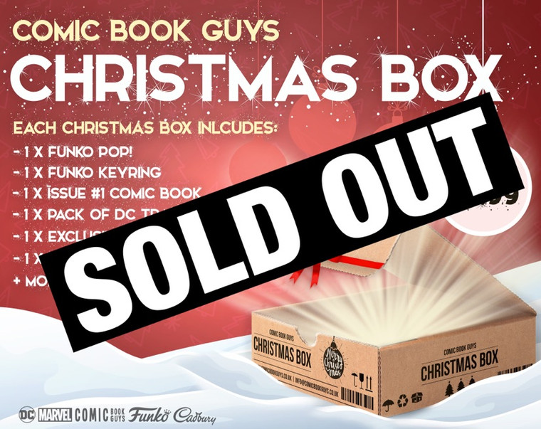 COMIC BOOK GUYS CHRISTMAS BOX (XMAS 2020)
