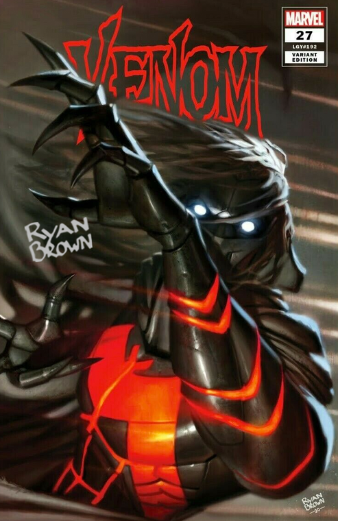 VENOM #27 RYAN BROWN EXCLUSIVE VARIANT SIGNED