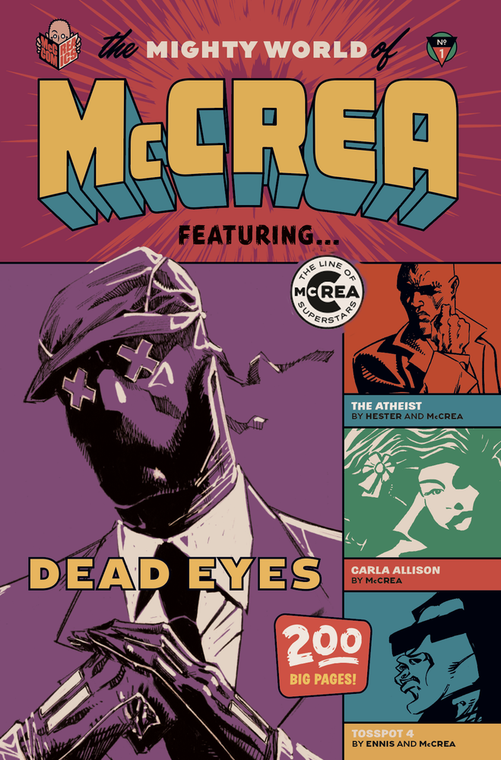 THE MIGHTY WORLD OF MCCREA TP VOL 01 SOFTCOVER