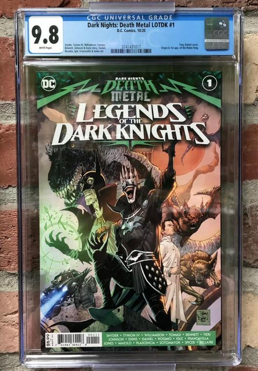 DARK NIGHTS: DEATH METAL LEGENDS OF THE DARK KNIGHT #1 CGC 9.8