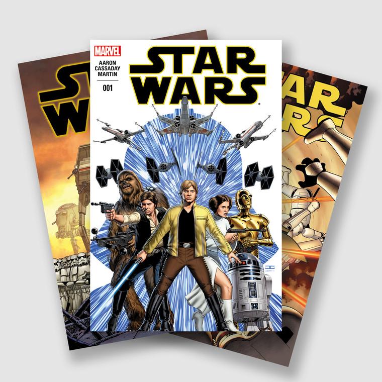 STAR WARS (2015 - 2019) COMPLETE SEVENTY FIVE PART COMIC SET