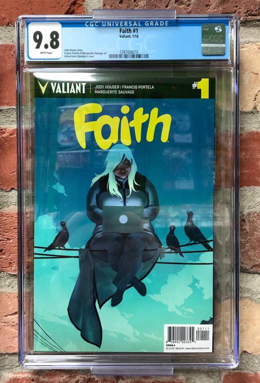 FAITH #1 CGC 9.8