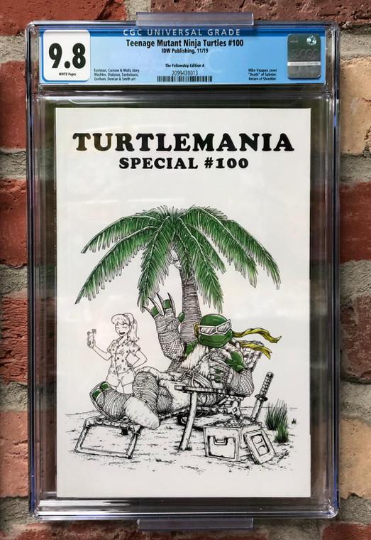 TEENAGE MUTANT NINJA TURTLES #100 CGC 9.8