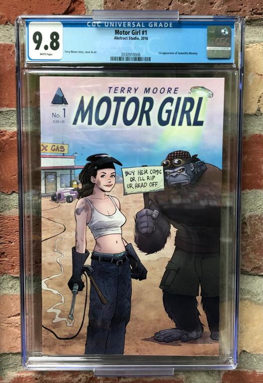 MOTOR GIRL #1 CGC 9.8