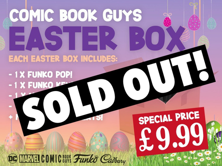 COMIC BOOK GUYS EASTER BOX (EASTER 2021)