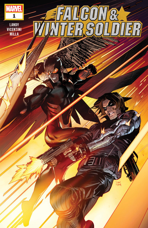 FALCON & WINTER SOLIDER #1 (2020) FIRST PRINTING
