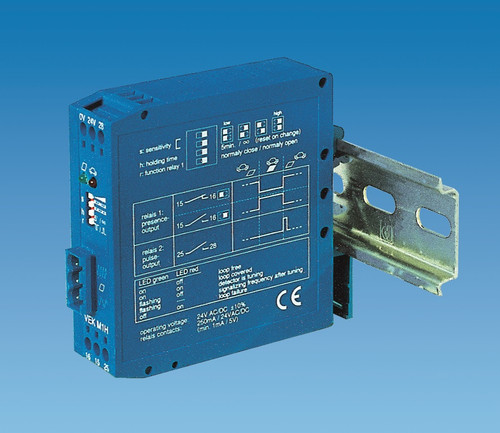 VEK-M2H Dual channel vehicle loop detector. Also known as MID2E-800