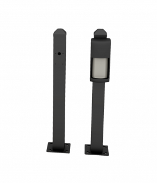 "OVS-MPB Mini Post for OVS-01GT Mounting-BLK  28"" height for road surface mounting"