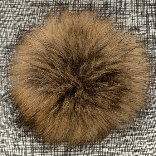 XL raccoon foxy pompom (15 cm)