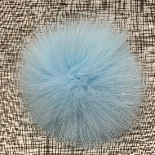 XL raccoon icy blue pompom (15 cm)