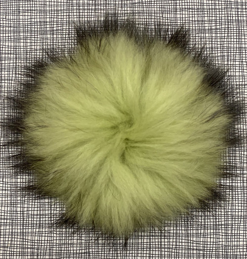 XL raccoon wasabi pompom (15 cm)