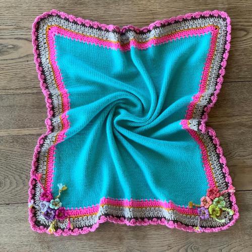 Wick Farm Baby Blanket Pattern - PDF