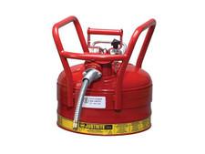 Safety Can - 2-1/2 Gallon w. Spout - D.O.T.