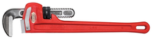Straight Heavy Duty Pipe Wrench - 8""