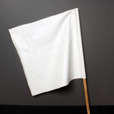 Safety Flag - White