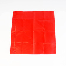 True Red Safety Glo Flag w/o Staff