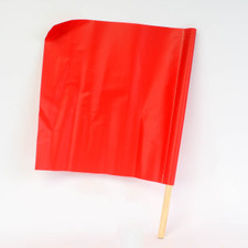 Safety Glo Flag - True Red