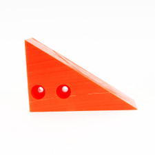 Wheel Chock - Safety Orange