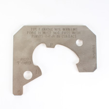 F Knuckle Nose Worn Limit Gage