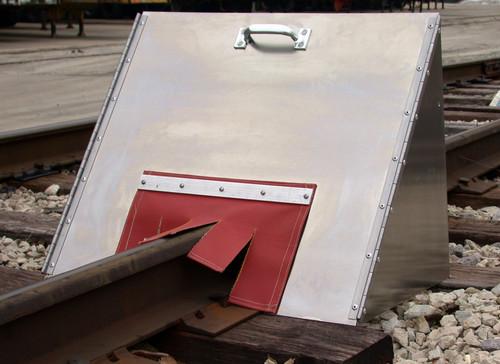 Welders Spark Shield - Short Model Aluminum