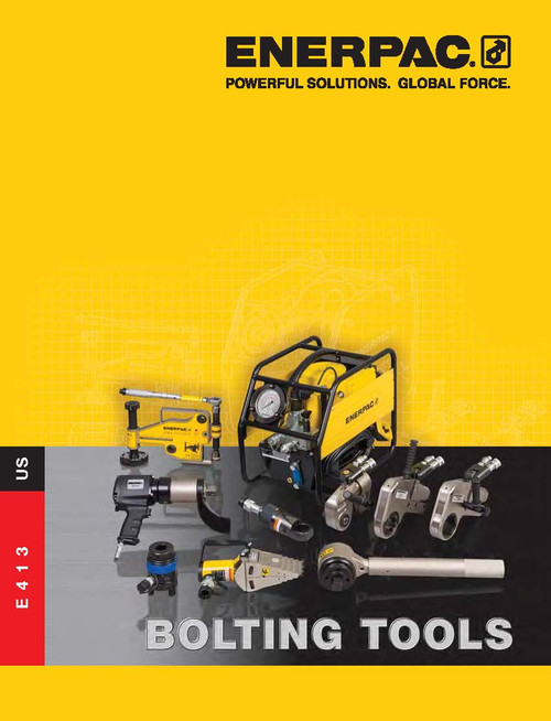 Enerpac Bolting Tools Catalog