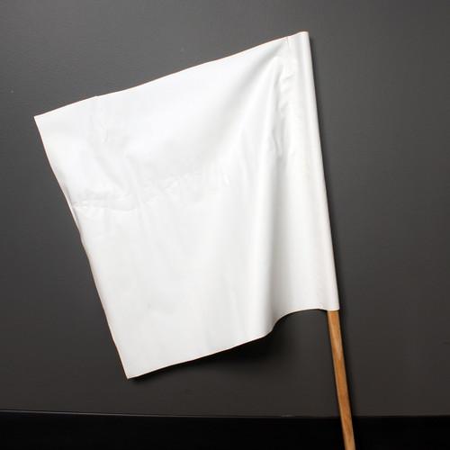 Safety Flag - White