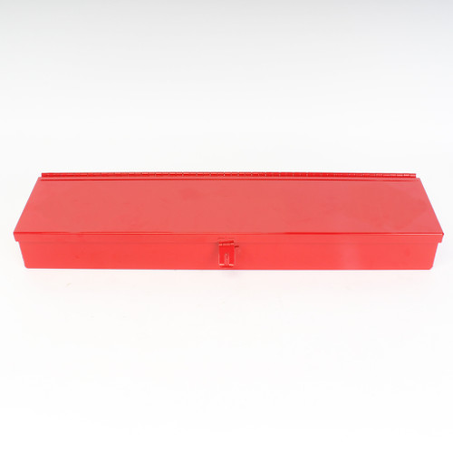 Red steel Flagging Box