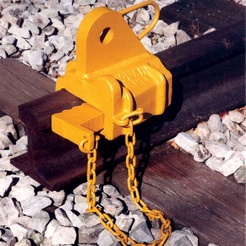 Fabricated rail puller