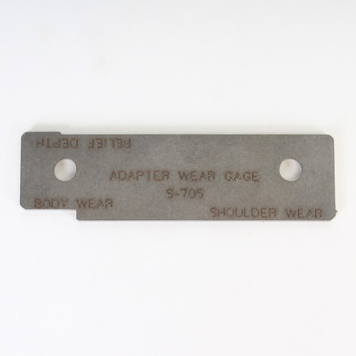 Adapter Wear Gage