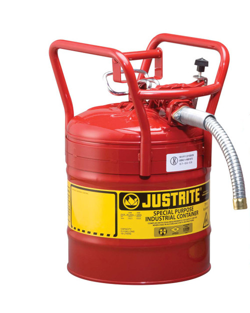 Safety Can - 5 Gallon w. Spout - D.O.T.