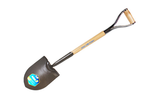 D-Handle Round Point Shovel