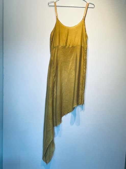 Flame Asymetrical Long Dress