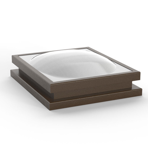 Acrylic Dome Fixed Curb Mount Skylight (LC)