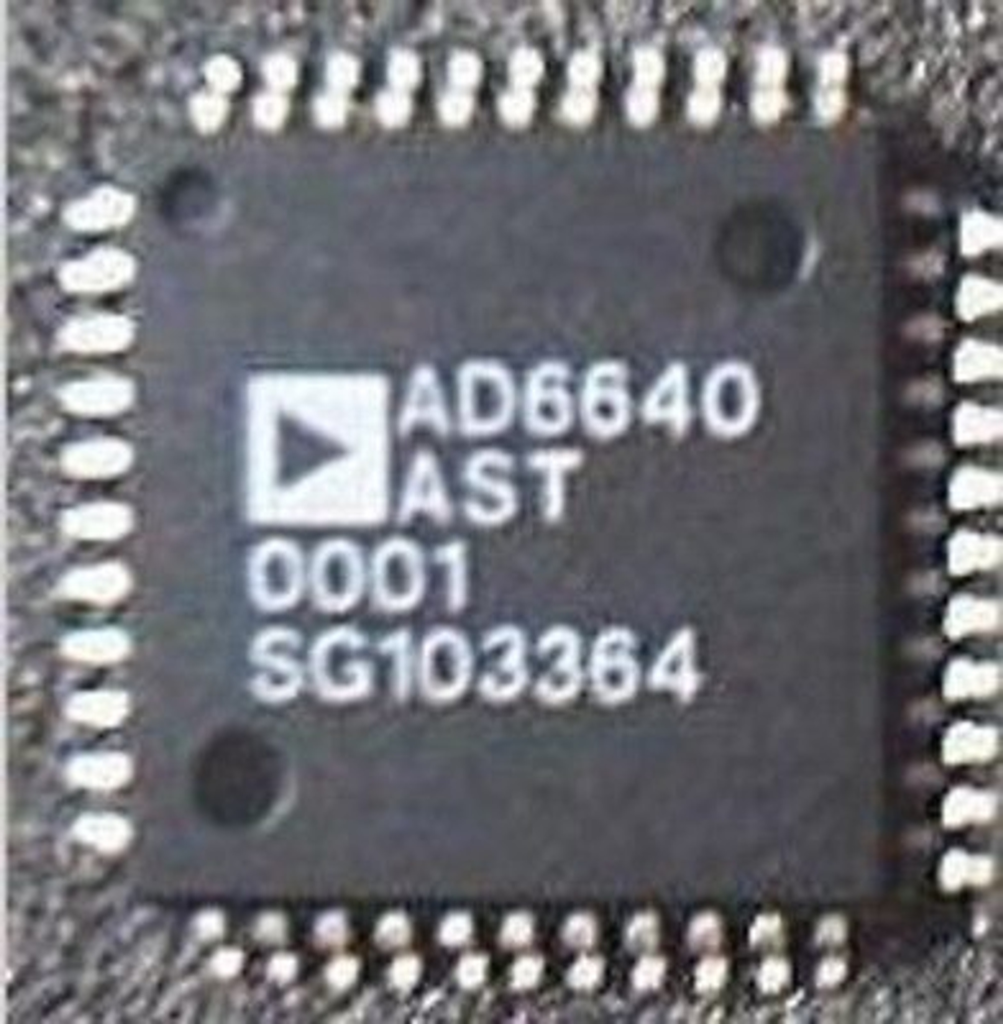 44 IC Single ADC pipeliné 65 Msps 12-bit parallèle 1x AD AD6640AST LQFP